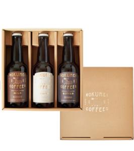 クラフトコーヒー3種類飲み比べ 350ml×3